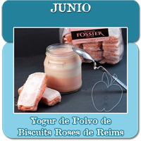 Yogur de Polvo de Biscuits Roses de Reims - Junio200