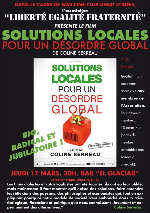 Solutions locales…CINE CLUB L E F