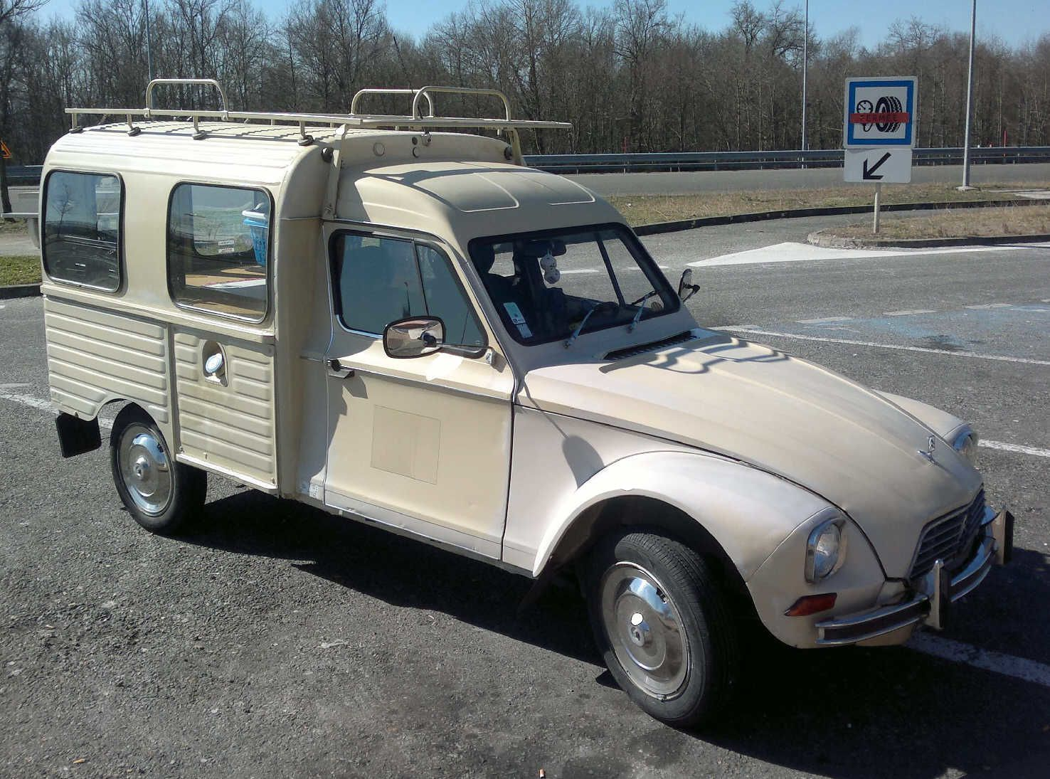 citroen 2cv break