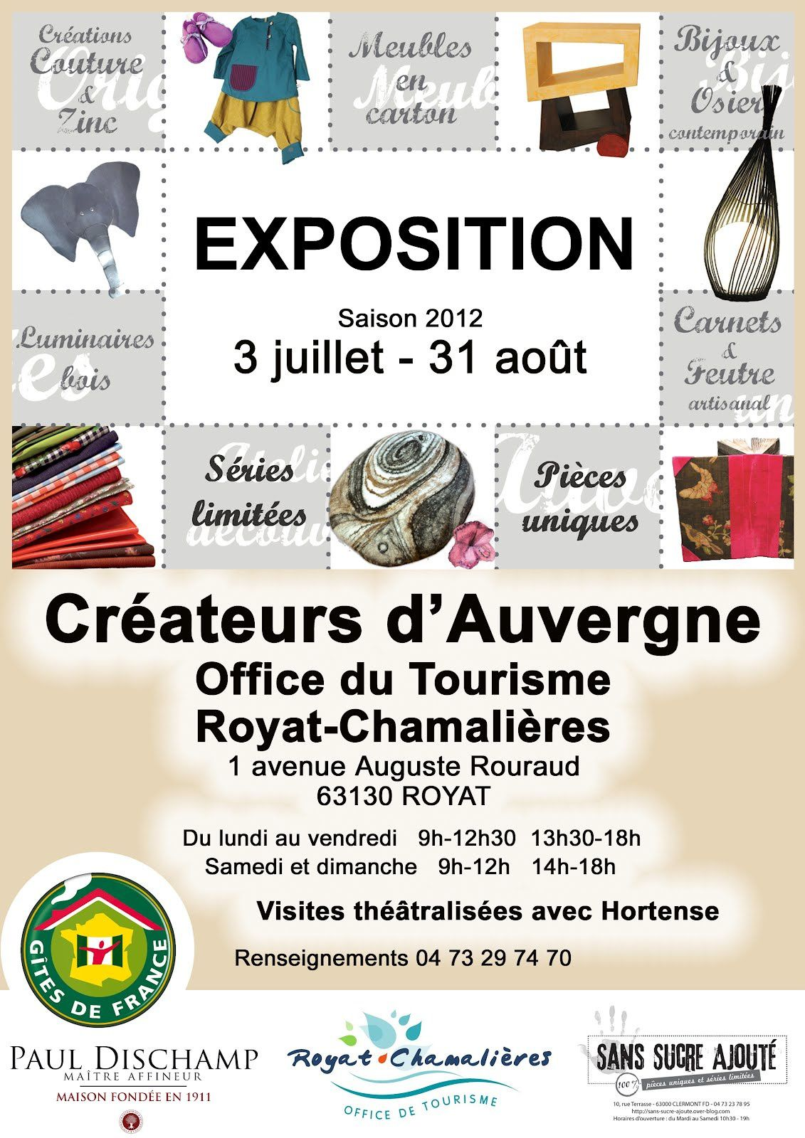Affiche Office du tourisme Royat