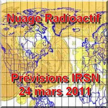 nuage radioactif de fukushima source irsn sur paul keirn na