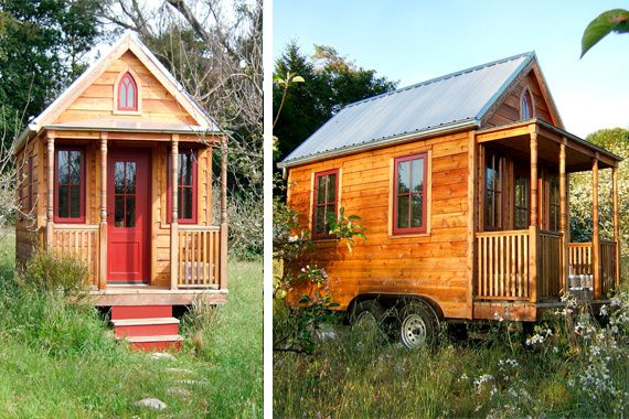Tiny houses les minuscules maisons arrivent natures paul keirn - Small house planseuros ...