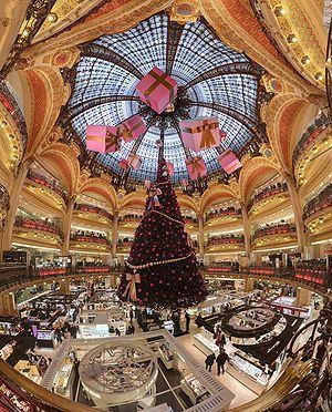 300px-Galerie Lafayette Haussmann Dome