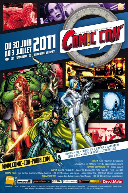 Comic Con Paris 2011