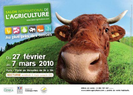 Salon internationale de l 39 agriculture 2010 le blog de - Salon de l agriculture materiel agricole ...
