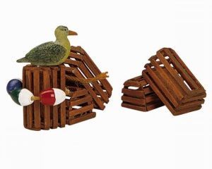 14636 Wooden Lobster Pots