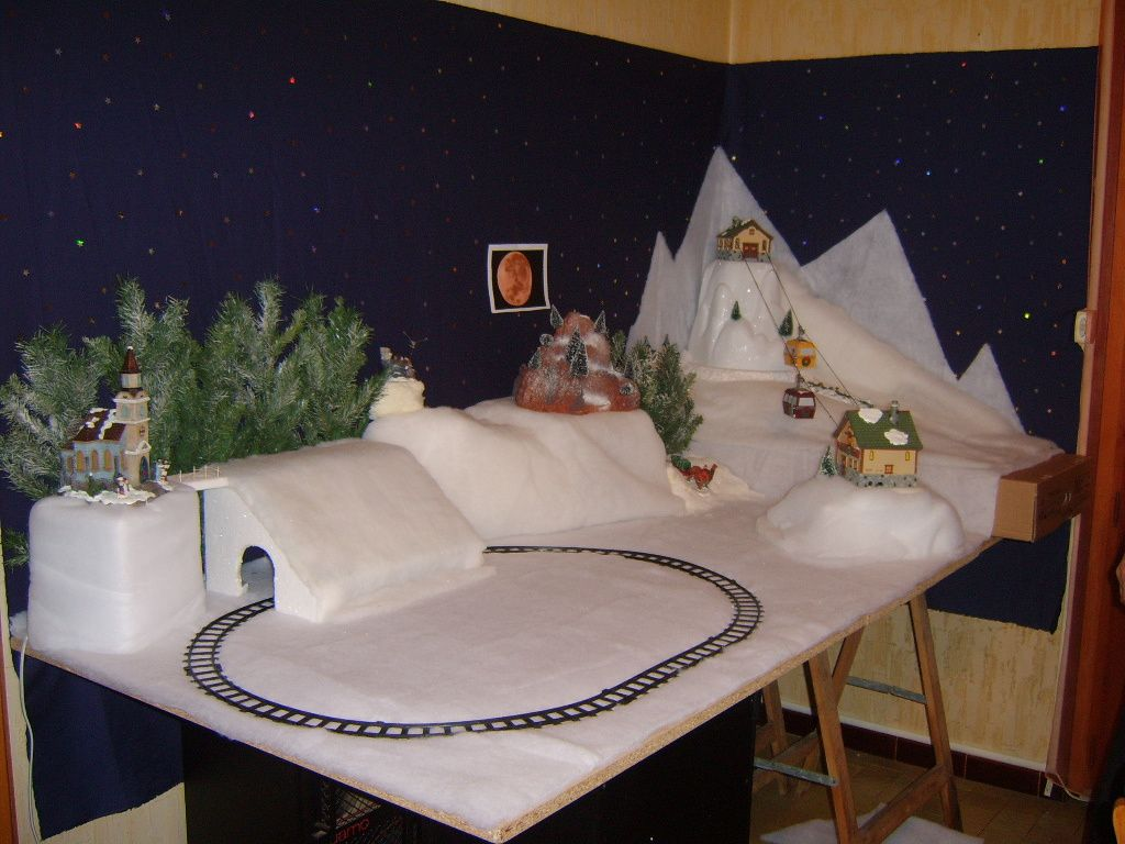village de noel 2008 le blog de laurence. Black Bedroom Furniture Sets. Home Design Ideas