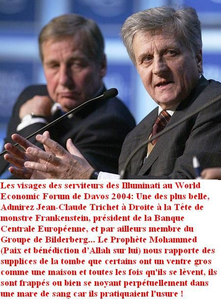 Jean-Claude Trichet World Economic Forum davos 2004