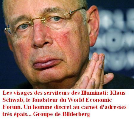 Klaus Schwab, le fondateur World Economic Forum de davos 20