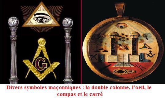 double colonne maçonnique