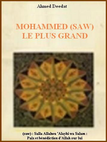 Mohammed le plus grand