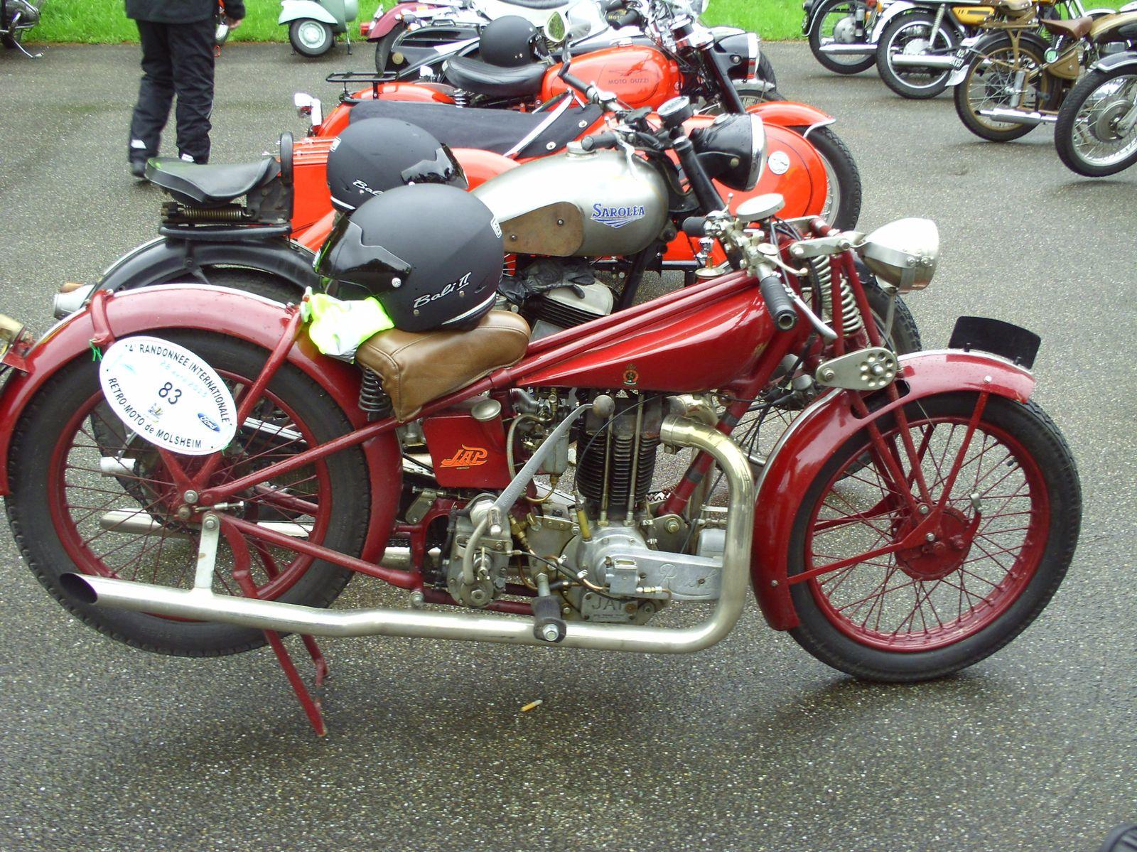 4° Randonnée Internationale Rétro Moto Molsheim - 28/04/2013