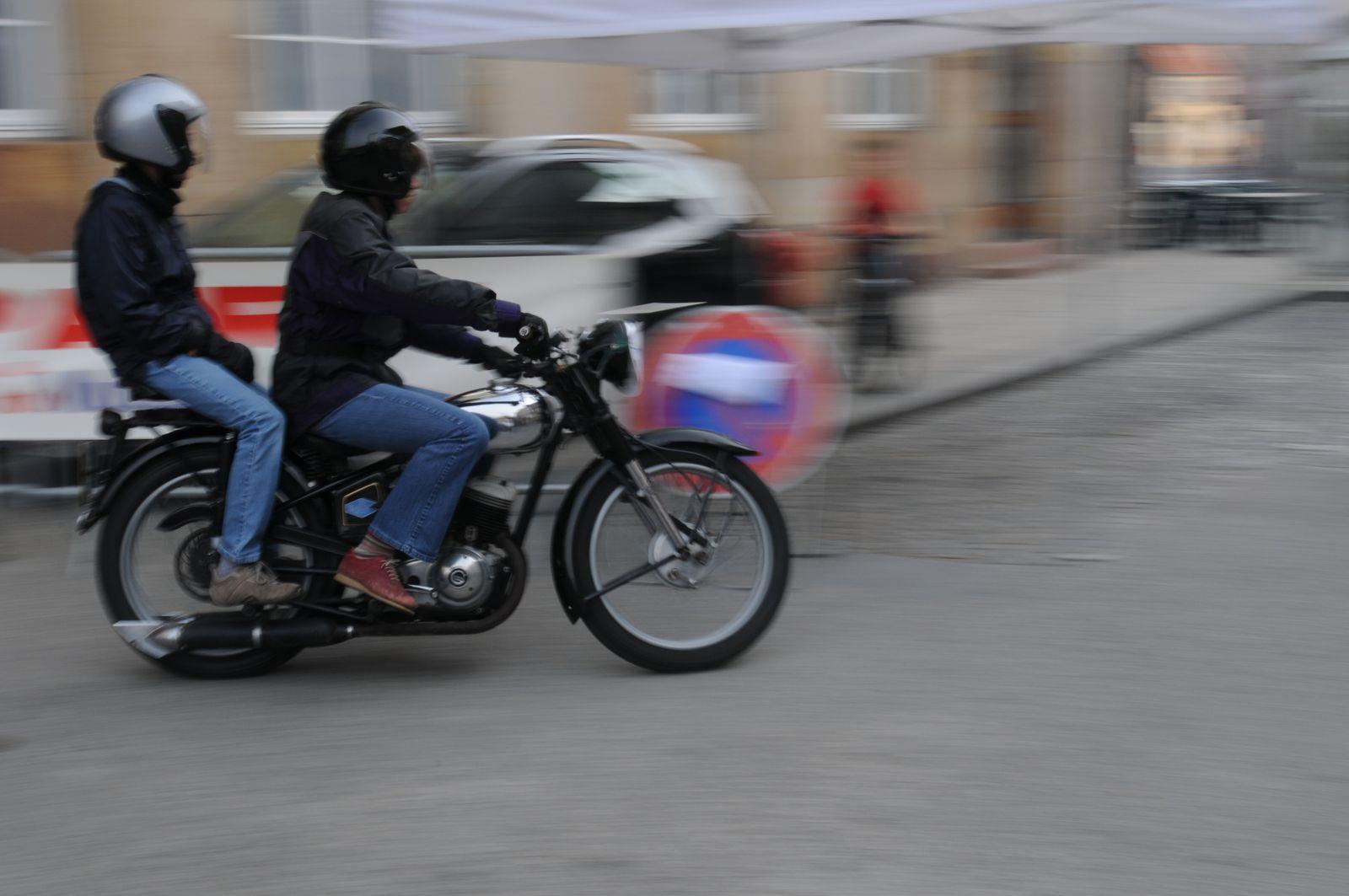 1° Randonnée Internationale Rétro Moto de Molsheim. Dimanche 26 avril 2009.