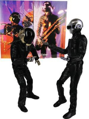 DAFT PUNK ACTION FIGURES 12""