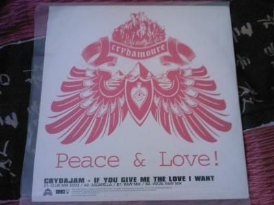 If You Give Me The Love I Want (vinyle promo)
