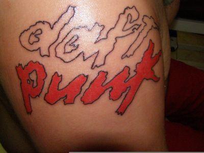 Le tatouage Daft Punk  de Daftworld