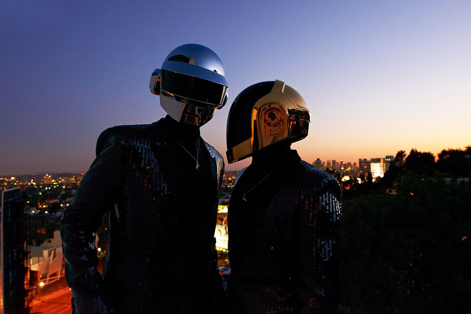 Daft Punk Interview And Portrait By OLIVIER ZAHM