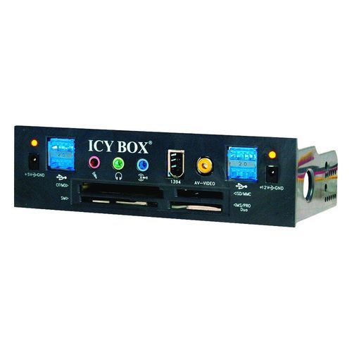 Lecteur de Carte memoire multimedia interne Icy-Box pour PC