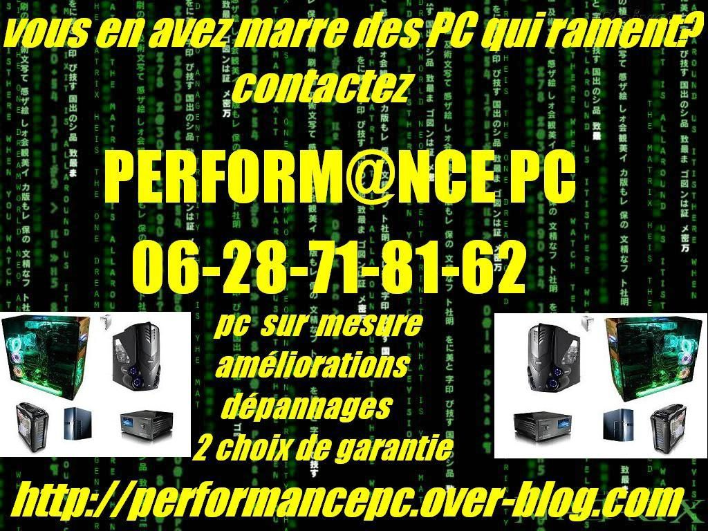 ma carte de visite de performance pc