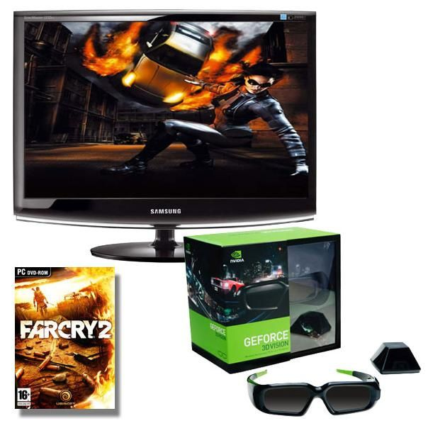 kit Nvidia Geforce 3d Vision pour Transformation en PC Gamer Immersion Total