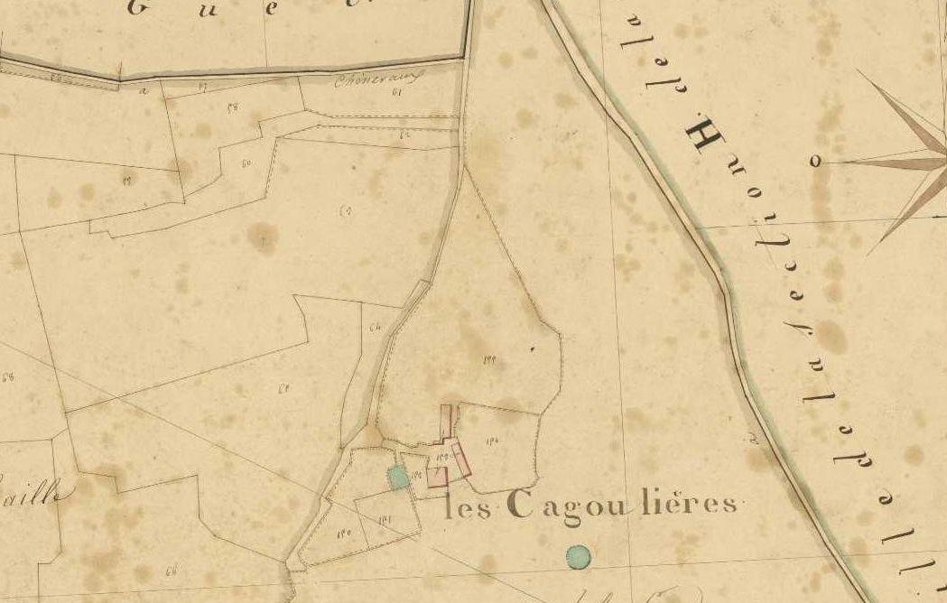 plan cadastre napoléonien détail