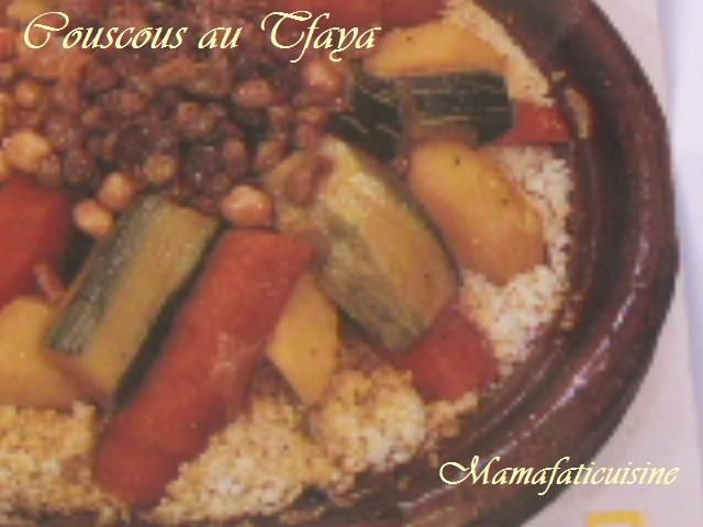 Album couscous mama fati for Plat unique convivial entre amis