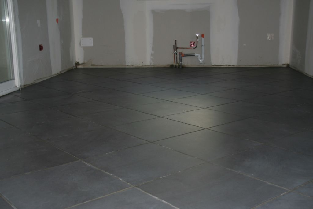 Carrelage magnetite ardoise for Prix carrelage