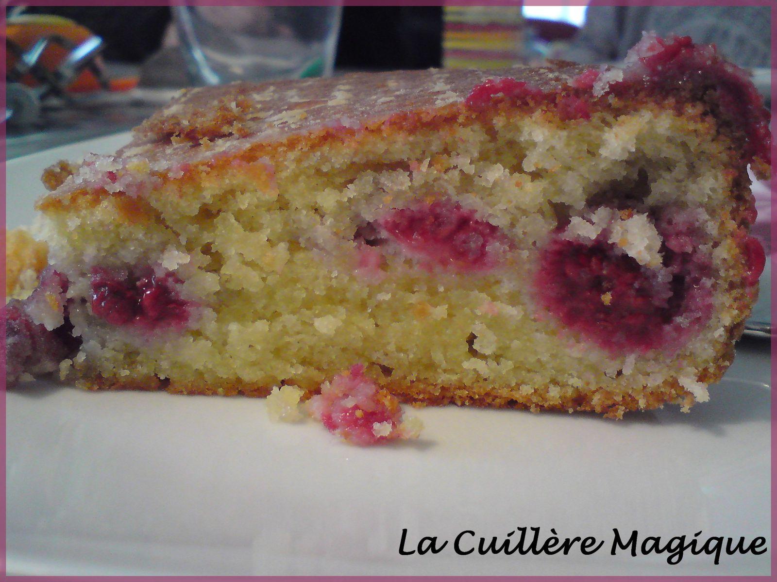 Recette De Cake Moelleux Aux Framboises