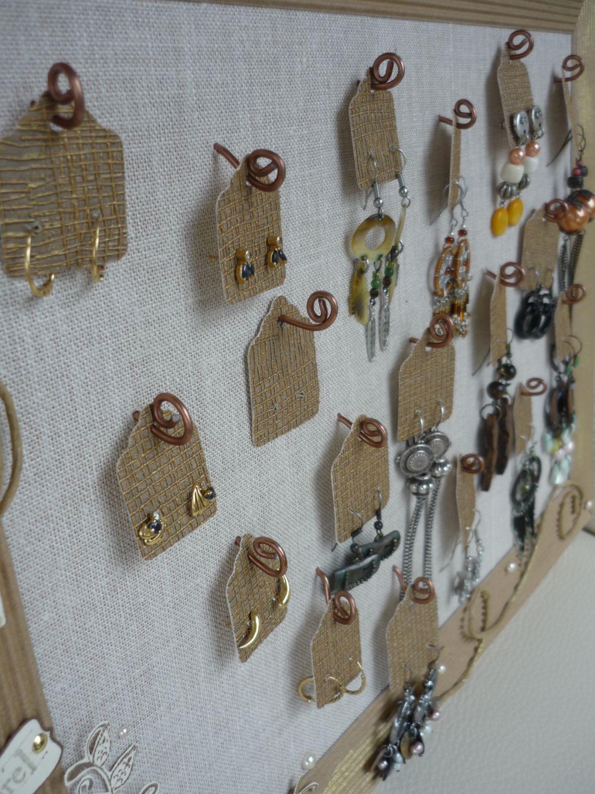 support boucle d oreille clou bijoux la mode. Black Bedroom Furniture Sets. Home Design Ideas