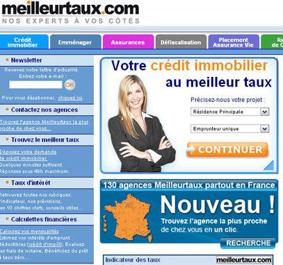 Le site de meilleurtaux.com
