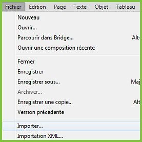 Importer un détourage de Photoshop à InDesign CS6 05
