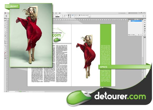 Tutoriel - Importer un détourage de Photoshop à InDesign