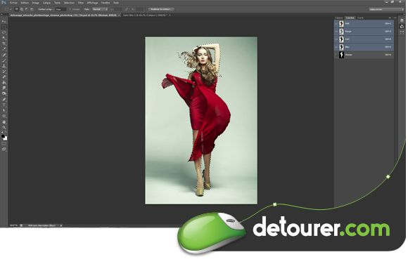 Tutoriel Importer un détourage de Photoshop à InDesign-Co