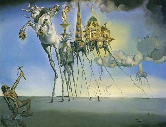 Salvador-Dali-Tentation1946