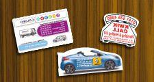 magnet publicitaire voiture automobile car