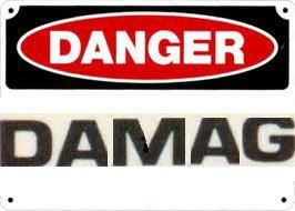 danger damag