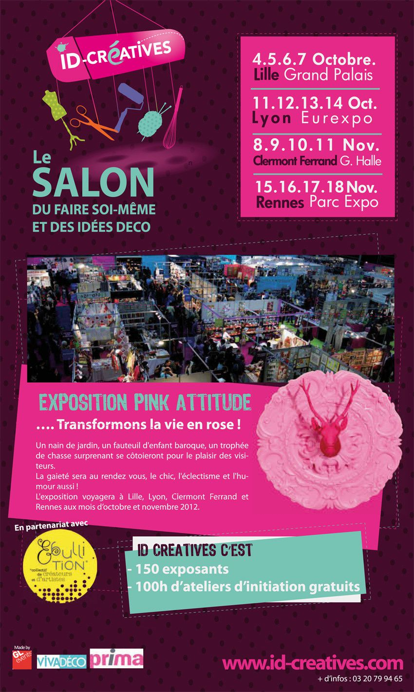 Salon id cr atives de lille octobre 2012 ideacoudre - Salon id creatives ...