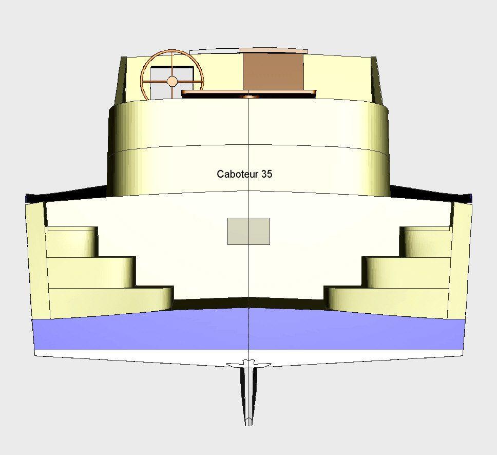 Bateau de viecotier / eau intérieure