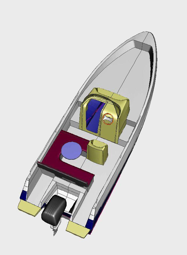 bateau à vision sous marine