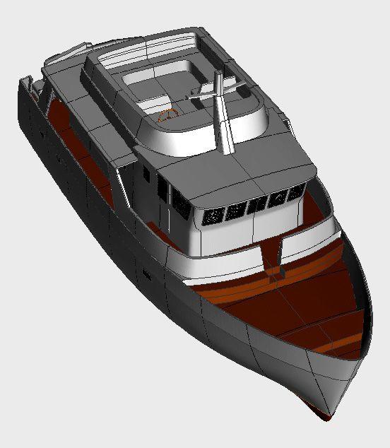 bateau de croisièrebateau d'exploration