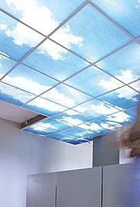 Dalle de plafond d corative acoustique et thermique le - Plafonds suspendus dalles decoratives ...