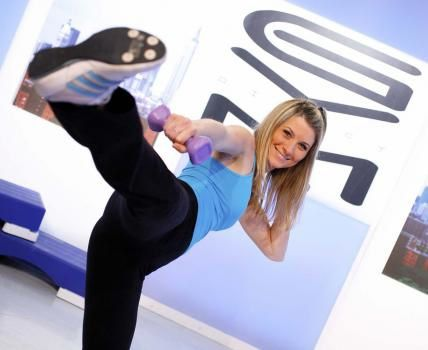 Sandrine Arcizet video gym direct