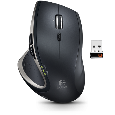 Logitech Performance Mouse MX blanc