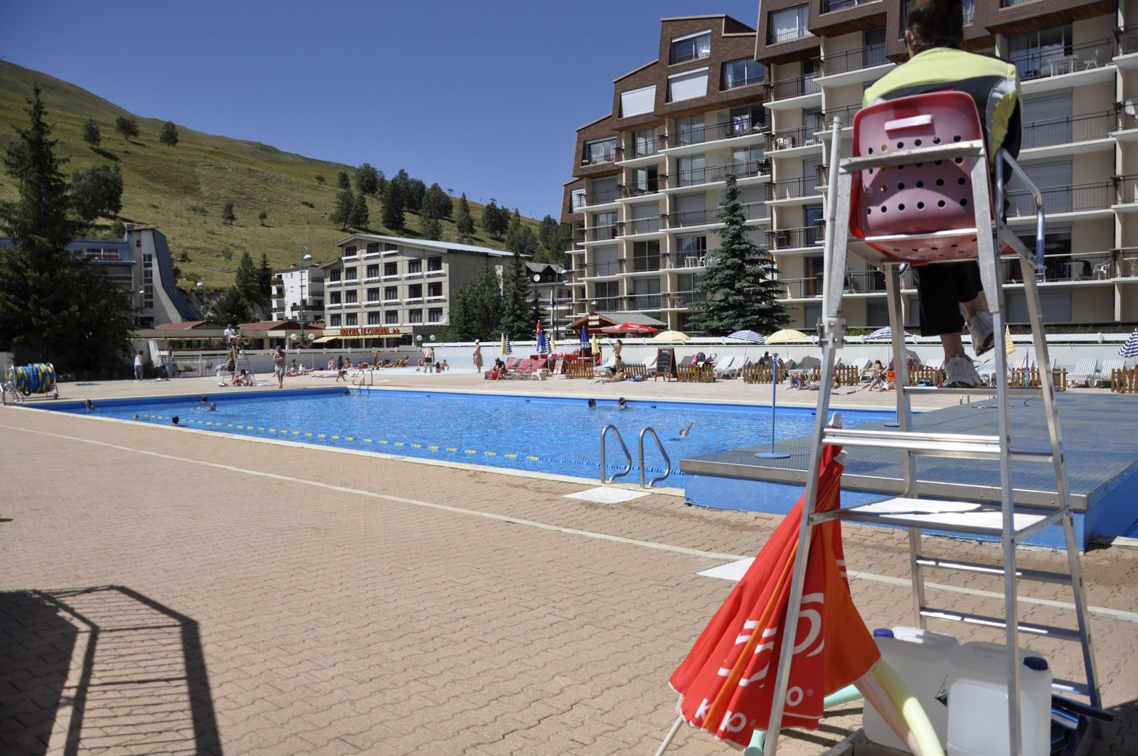 Album station ete le sappey les 2 alpes for Piscine les 2 alpes