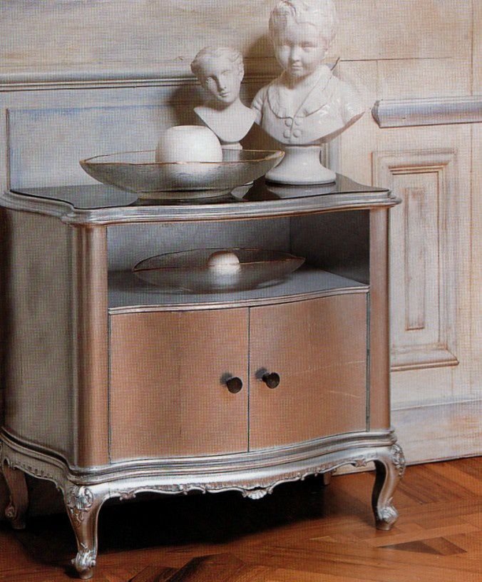 Customiser des meubles anciens tendance baroque lf for Customiser un meuble bureau