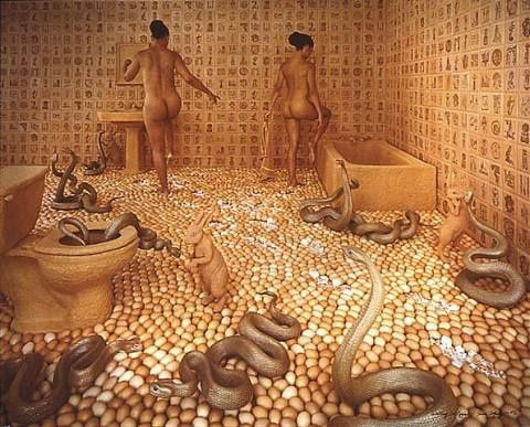 Walking-on-eggshells-Sandy-Skoglund.jpg