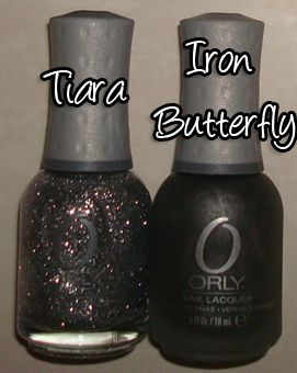 vernis Orly ( Tiara + Iron Butterfly