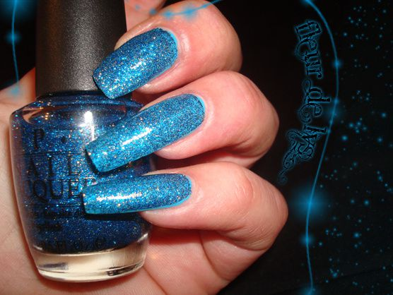 OPI Absolutely Alice ( + orly blue collar )