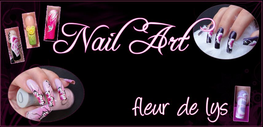 Fleur de Lys Nail Art v4 2