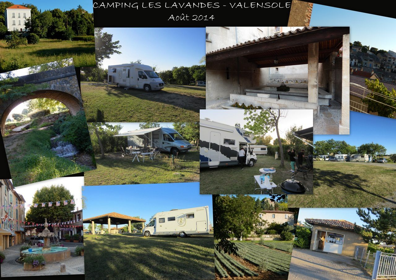 Camping aout 2014
